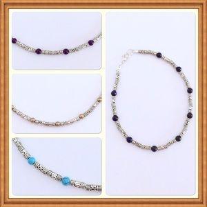 Jewelry - Silver stone bracelet
